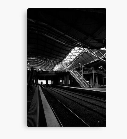 cityscapes #231, lines Canvas Print