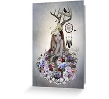 The Collector Greeting Card