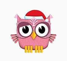 Owl Santa Claus pink Unisex T-Shirt