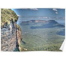 Jamison Valley, Katoomba, NSW, Australia  Poster