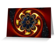 Vortex In Time Greeting Card