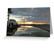 Storm Sunset Greeting Card