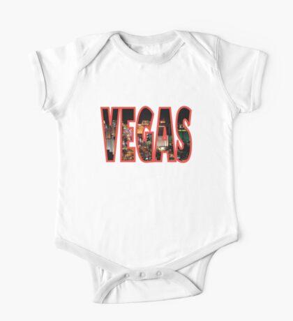 Las Vegas - Red One Piece - Short Sleeve