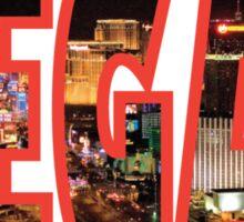 Las Vegas - Red Sticker