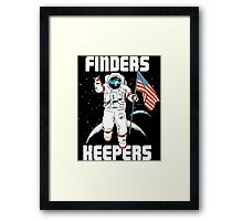 Finders Keepers Framed Print