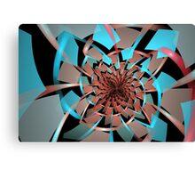 Portals Ruffled Tiles Canvas Print