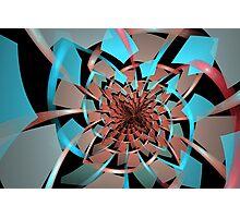 Portals Ruffled Tiles Photographic Print