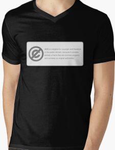 COPYRIGHT (GOD) Mens V-Neck T-Shirt