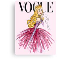 DIsney Princess Vogue Aurora  Metal Print