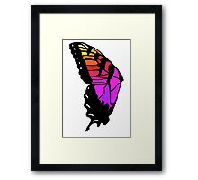 Butterfly wing pmore brand new eyes inspired  Framed Print