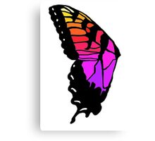 Butterfly wing pmore brand new eyes inspired  Canvas Print