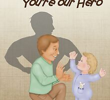 Dad Our Hero by SpiceTree