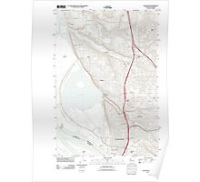 USGS Topo Map Washington Vancouver 20110826 TM Poster