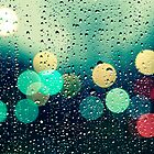 Rain and the city by Beata  Czyzowska Young