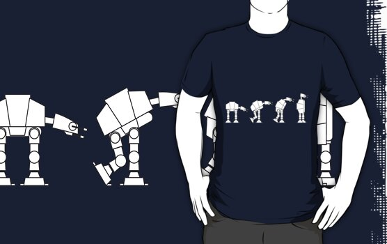Evolution of the AT-AT by James Lillis