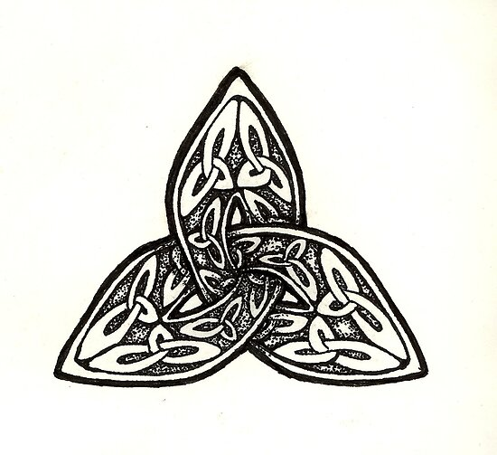 People of Celtic heritage, commonly sport a Celtic Trinity Knot Tattoo