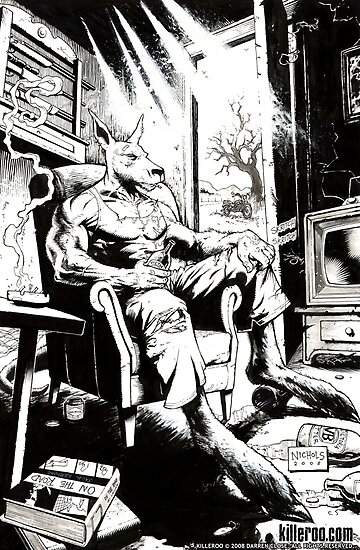 Comic Art: Killeroo at Home by Wayne Nichols