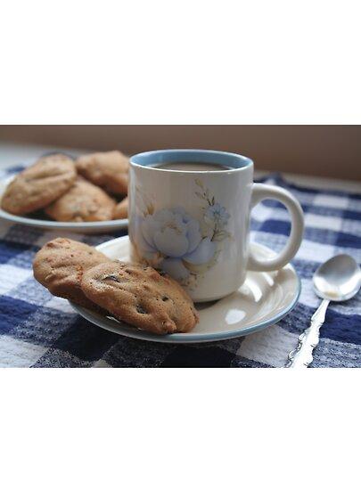 TASSES DE CAFE - Page 21 Work.2628211.3.flat,550x550,075,f.grandma-s-coffee-cookies-still-life