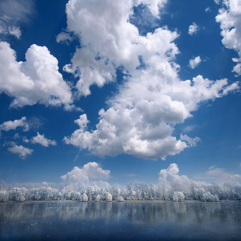 Cielo de algodón por Philippe Sainte-Laudy
