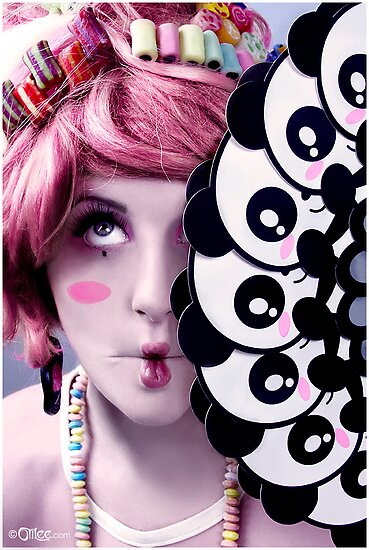 Candy And Colorful Make Up Art photo 3