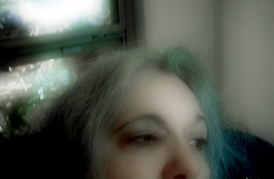 Contemplating Loss (Self-Portrait) by © RC deWinter