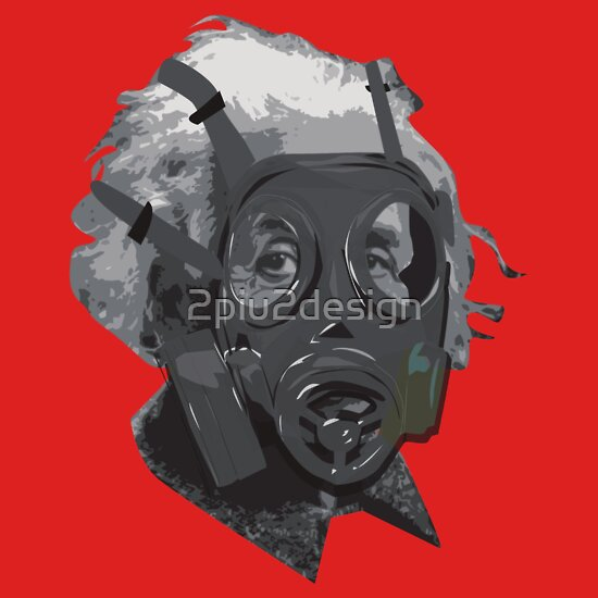 dubstep gas mask. Albert Einstein gas mask