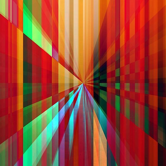 "Relative Dimensions 2"" Fine Art Print by Nathalie Chaput 