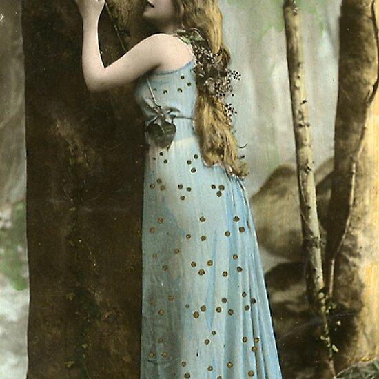 http://ih1.redbubble.net/work.4134438.1.flat,550x550,075,f.vintage-forest-maiden.jpg