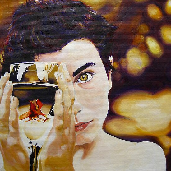 Oil Paintings: The Boy With The Sun In His Eye by Gabrielle Agius
