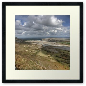 Mount Carron View in The Burren, County Clare