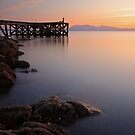 Portencross sunset by Grant Glendinning