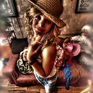 Urban Cowgirl... by Sam  Parsons