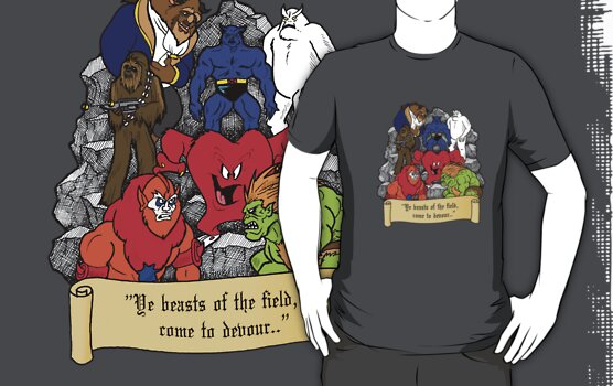 "Beasts of the Field"" T-Shirt Design by murrayjodie 