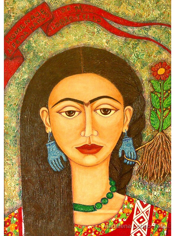 My homage to Frida Khalo by © Madalena Lobao-Tello