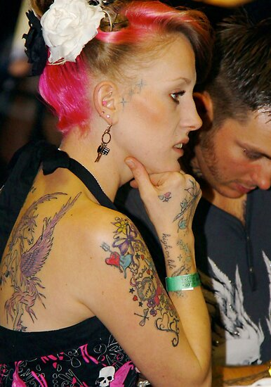 pink tattoo. Pretty In Pink - Tattoo