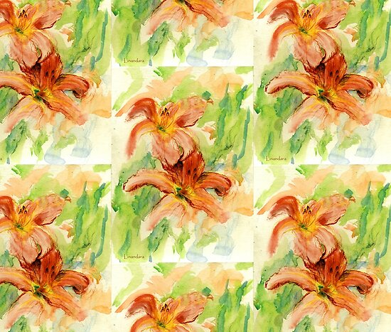 Daylilies by Linandara