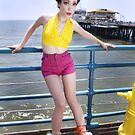 Bisty at the Santa Monica Pier by rottencandy