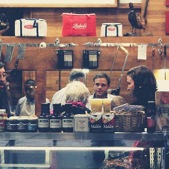 Street Photography: Butcher Shop by maxym