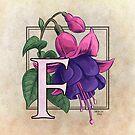 F is for Fuschia