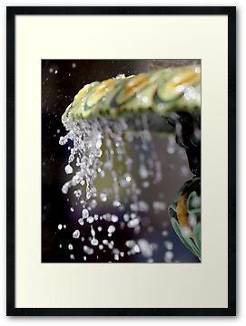 Fountain Splash III by Stephen Mitchell