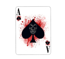 Wattford Work.6627362.1.sticker,220x200-pad,220x200,f8f8f8.ace-of-spades-v1