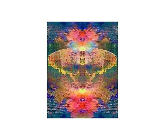Butterfly in Flowers by Kristin Sharpe