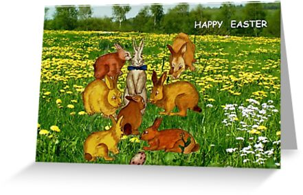happy easter cards for kids. Easter Card for children.