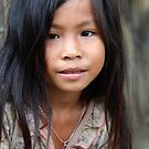 Lao girl by Valérie Curty