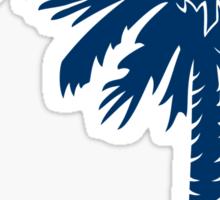 Blue Palmetto Moon Sticker by Palmetto Trading
