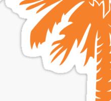 Orange Palmetto Moon Sticker by Palmetto Trading