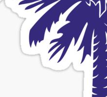 Purple Palmetto Moon Sticker by Palmetto Trading