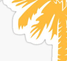 Yellow Palmetto Moon Sticker by Palmetto Trading