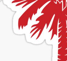 Red Palmetto Moon Sticker by Palmetto Trading