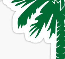 Green Palmetto Moon Sticker by Palmetto Trading